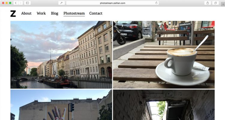 ZPhotostream: A simple photostream for the indie web