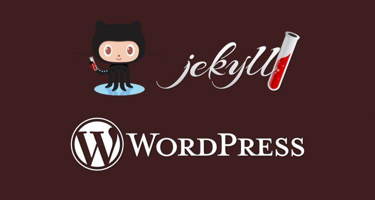 From Jekyll to WordPress