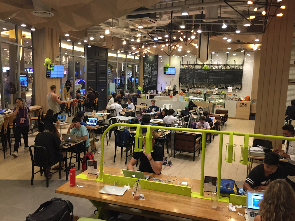 CAMP coworking space at Maya Mall