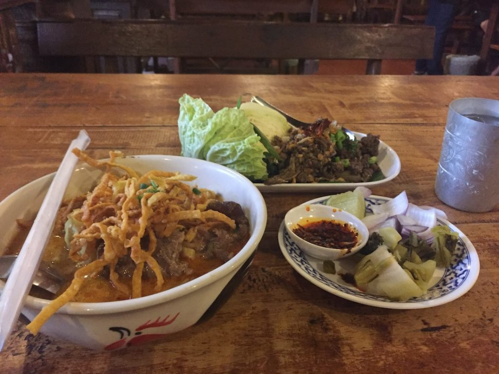 You will eat a lot of Khao Soi