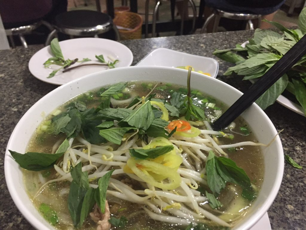 Fresh Pho at any hour of the day, always at a reasonable price.