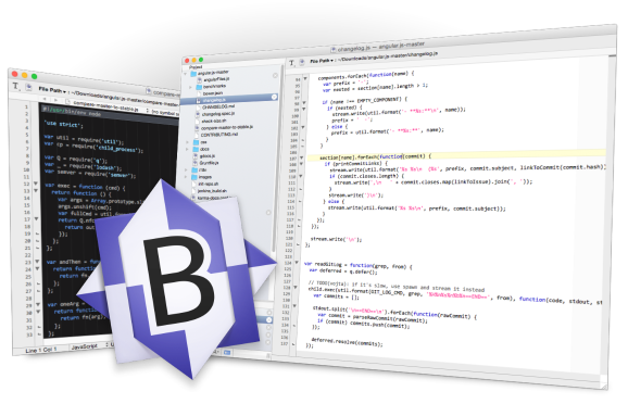 BBEdit - photo credit Bare Bones Software