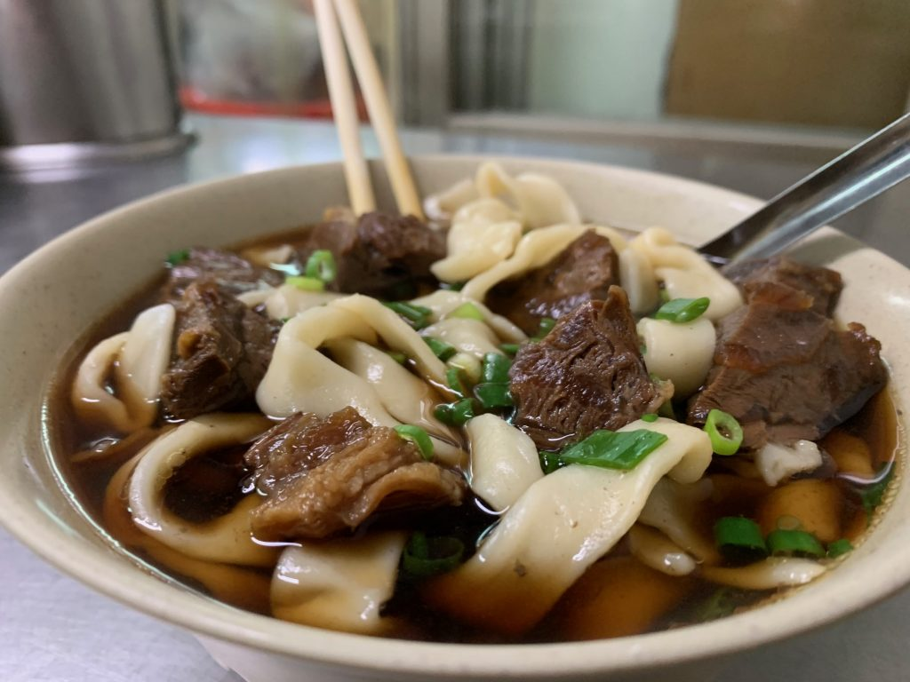 You will eat a lot of Beef Noodle Soup.