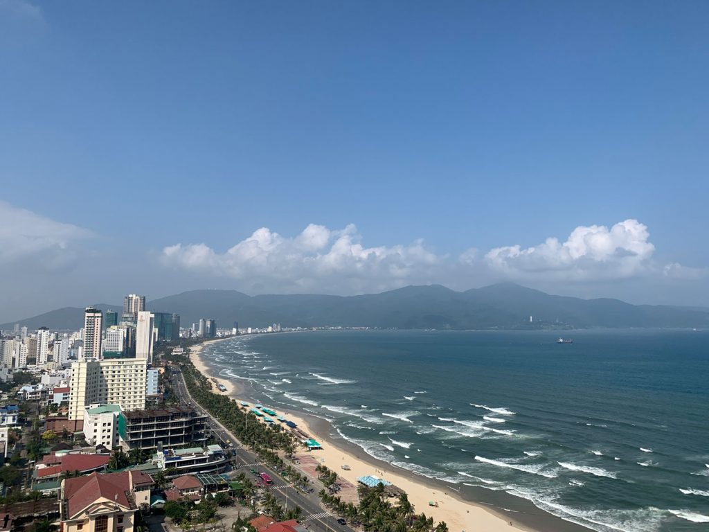 The View out over My An/My Khe Beach from my Da Nang apartment