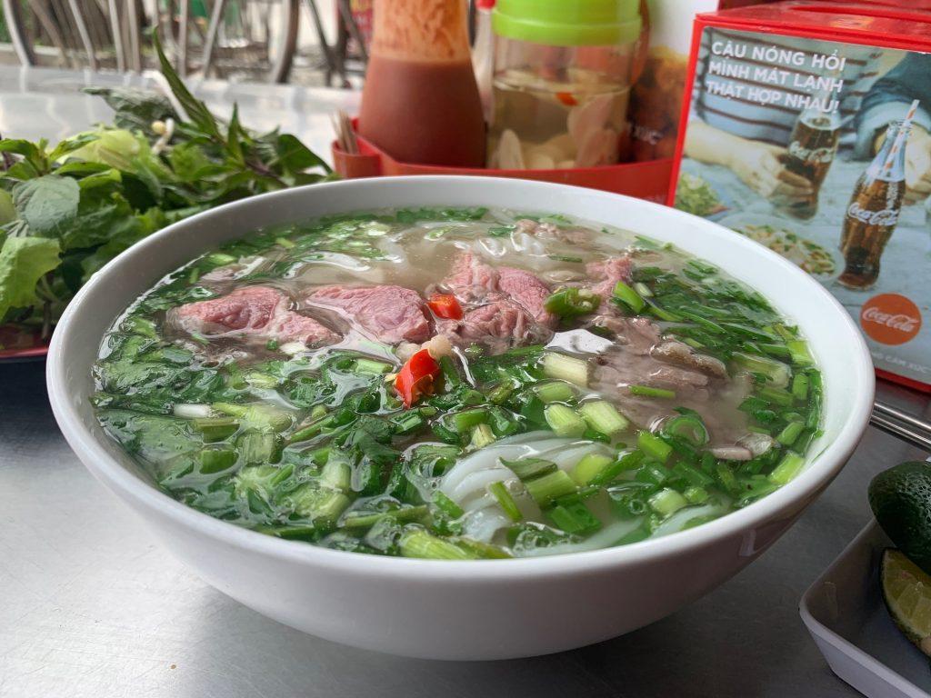 Pho Bo at a local restaurant